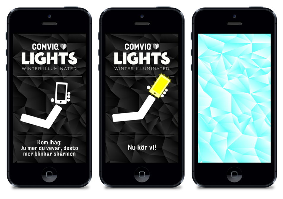 Comviq light burst